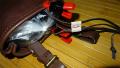 035/ベルトポーチ 茶色 バックル 修理