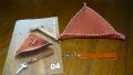 4ヶ月目:三角革トレイ・ストラップ